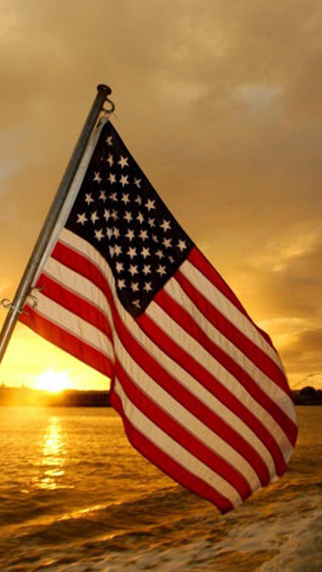 Boat Yacht Rental Usa Flag Wallpaper Iphone