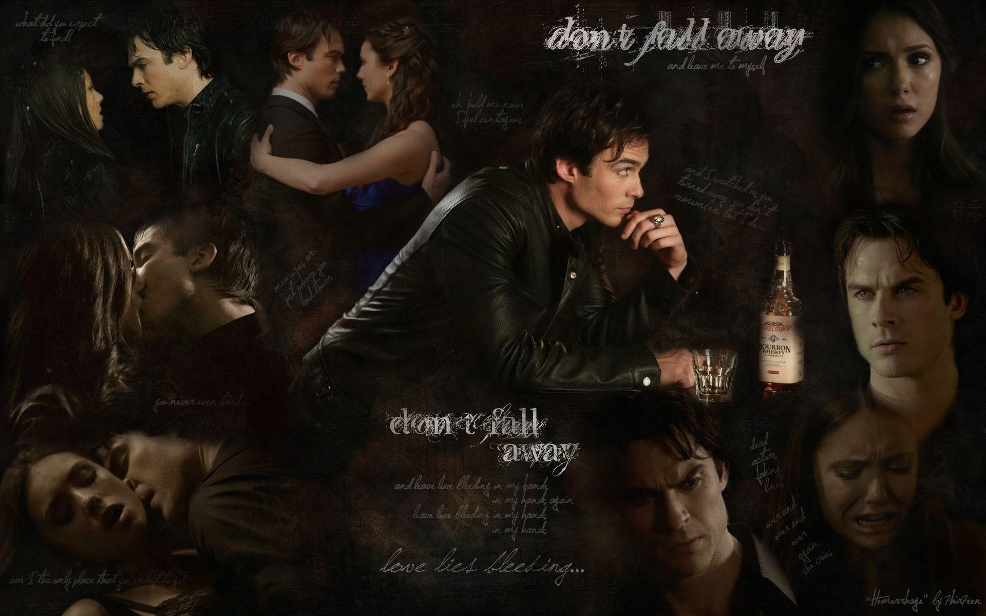 vampire diaries wallpaper damon