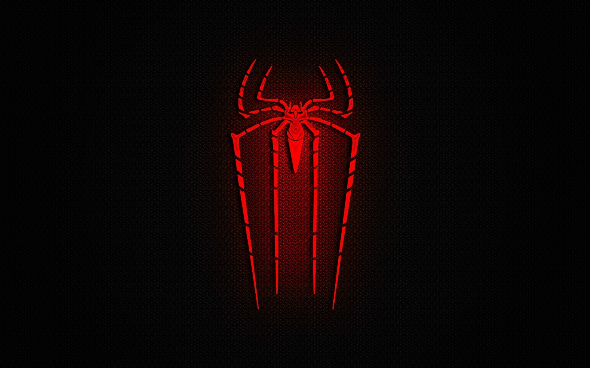 hd spiderman logo wallpaper