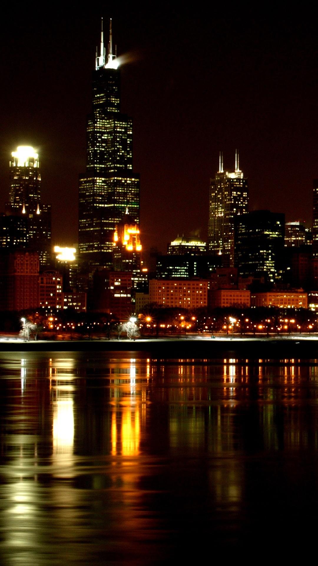 New York Iphone X Wallpaper High Resolution Chicago Skyline Wallpaper 64 Images
