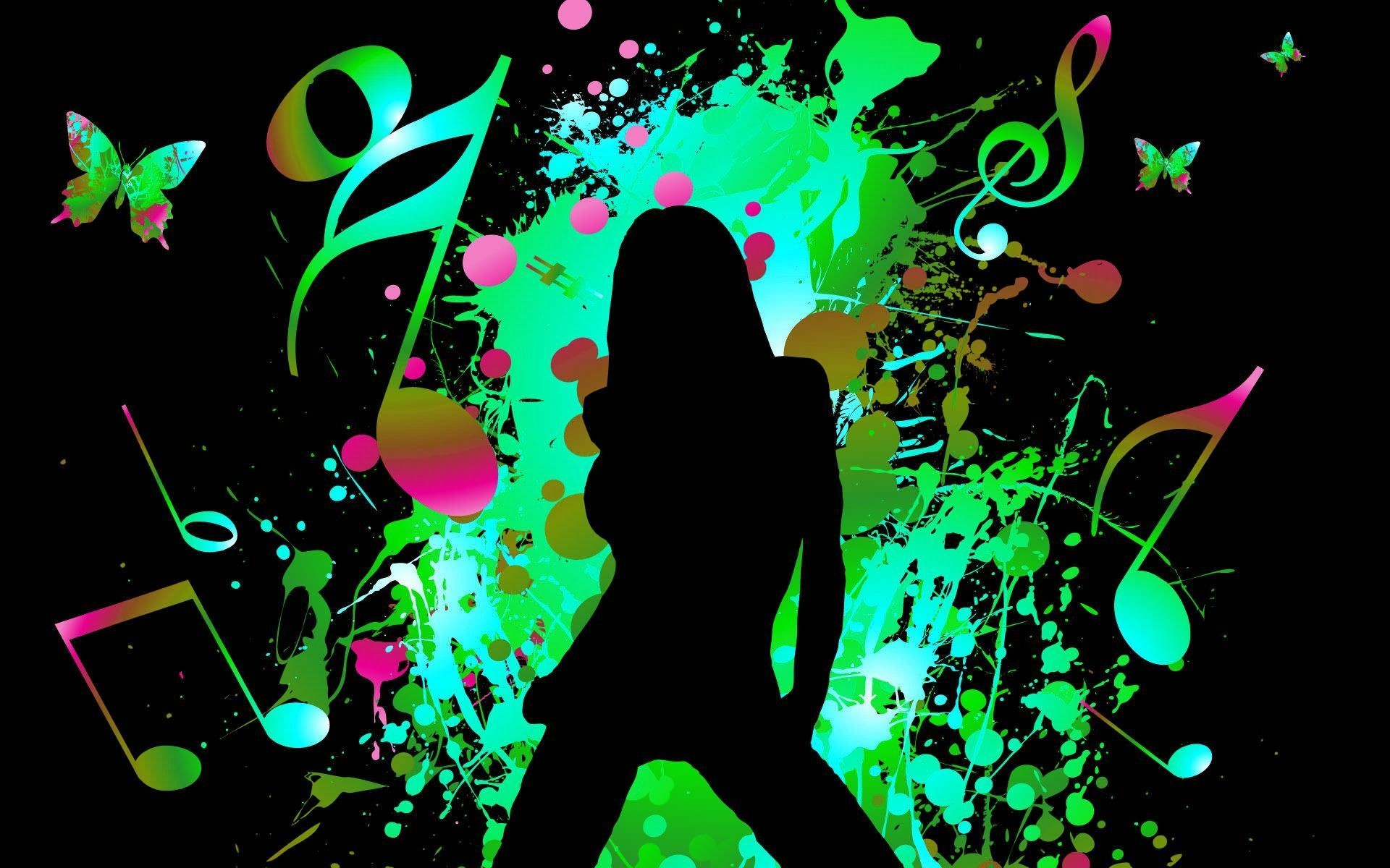 Guitar Girl Silhouete Wallpaper Iphone Music Girl Wallpaper Hd 75 Images