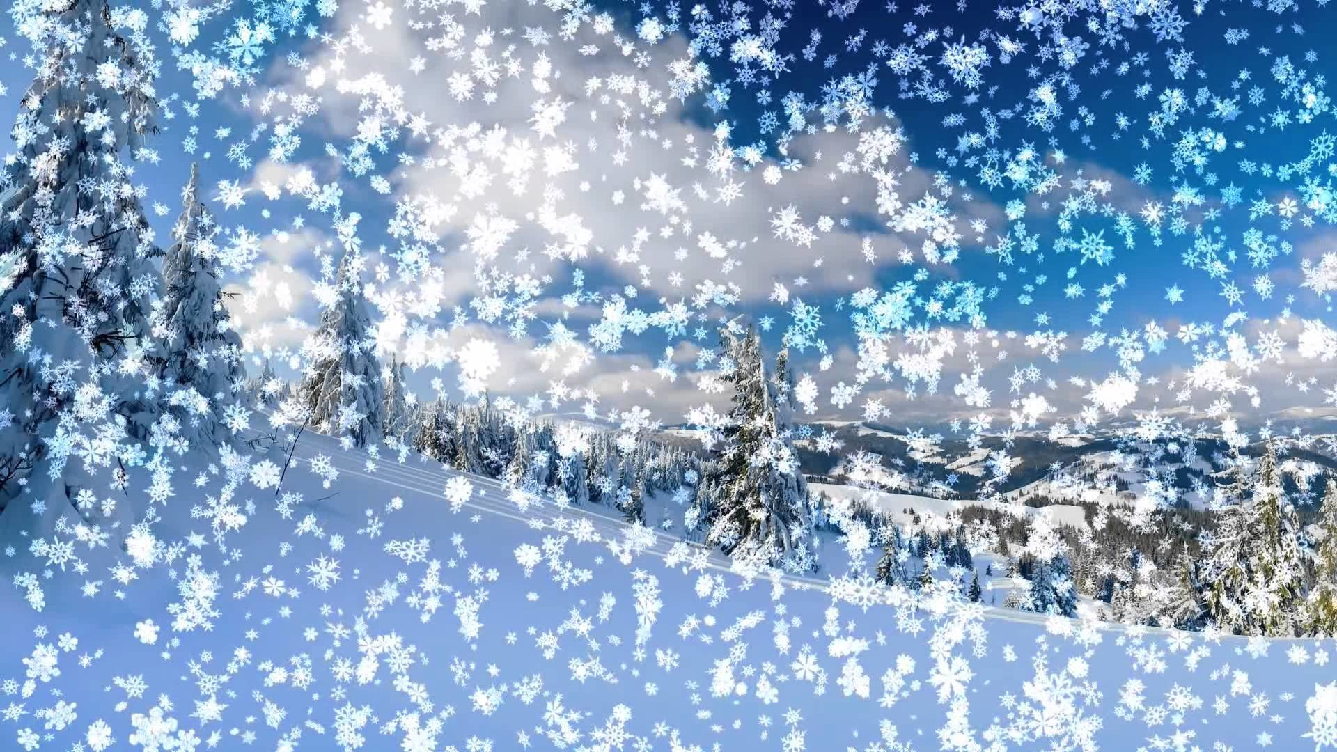 Live Winter Snow Fall Background Wallpaper Falling Snow Animated Wallpaper 57 Images