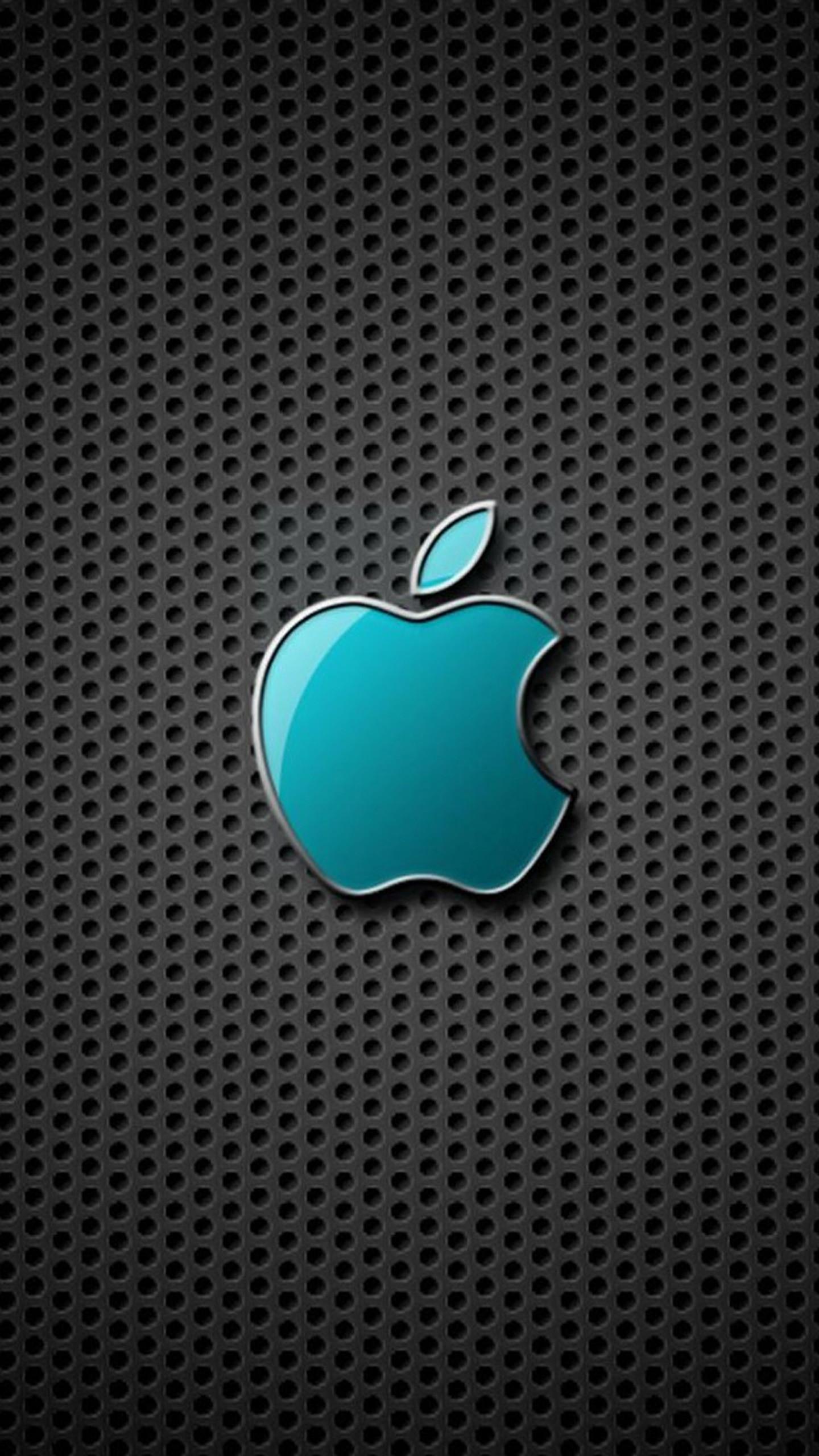 apple blue wallpaper 76