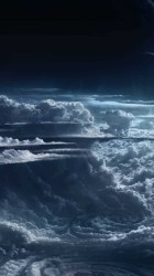 clouds 4k sky planet wallpapers light hd space nature iphone atmosphere 5k cyclone fantasy mobile shockwave tablet phone 1024 2000