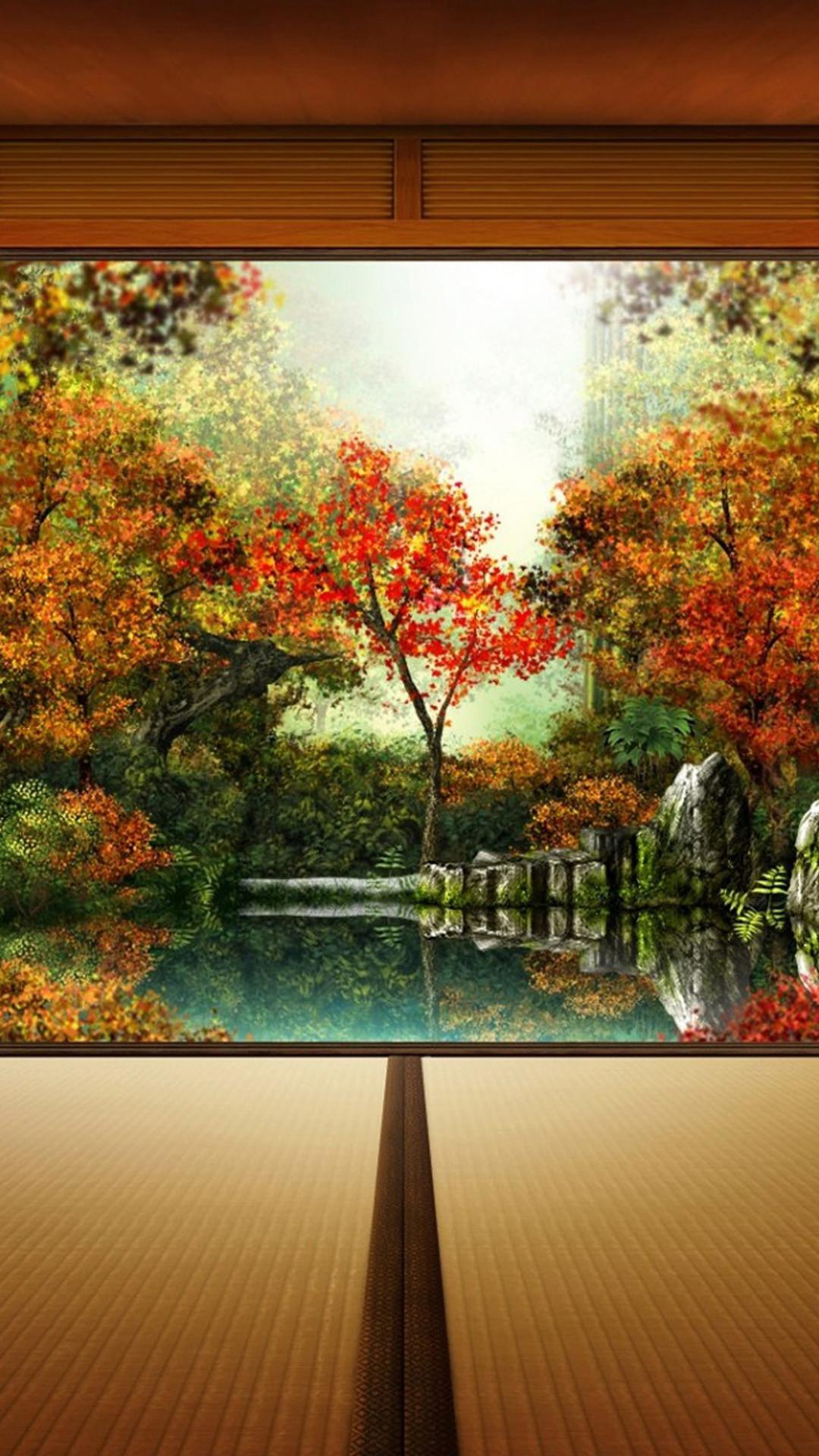 Rain Fall Hd Wallpaper Download Iphone 6 Autumn Wallpaper 87 Images