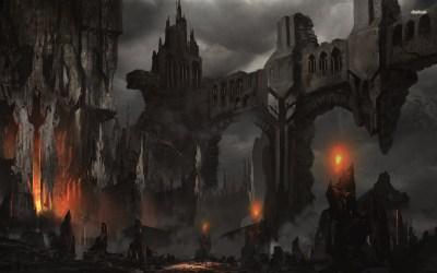 castle fantasy dark wallpapers hd background medieval concept darkness desktop forgotten 4k echo realms horror getwallpapers 1920