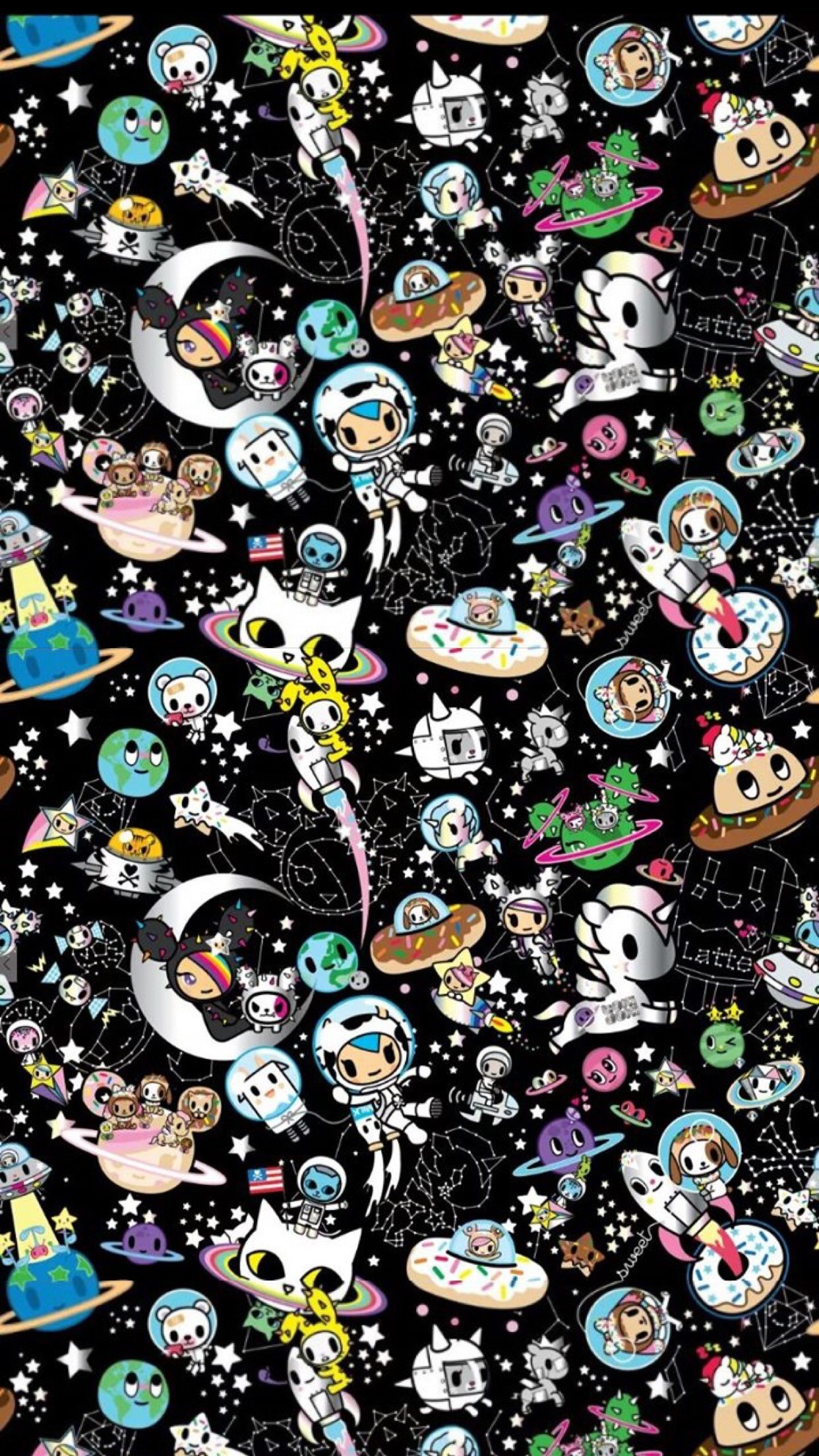Anime Iphone X Wallpapers Deviantart Tokidoki Unicorno Wallpaper 69 Images