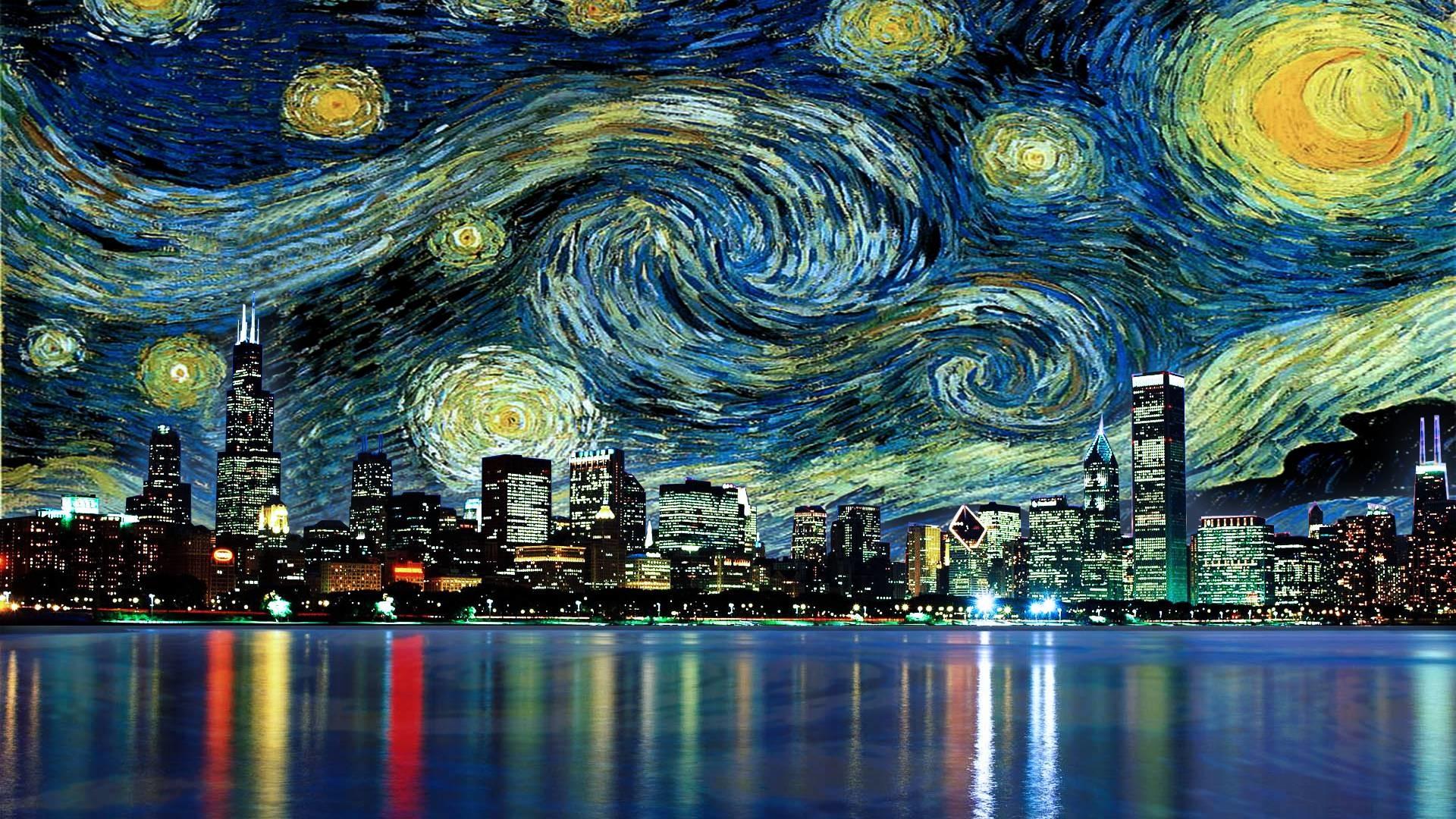 starry night background 56