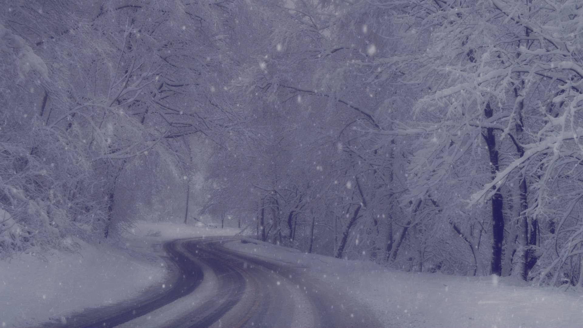 Free Christmas Falling Snow Wallpaper Winter Wonderland Background 44 Images