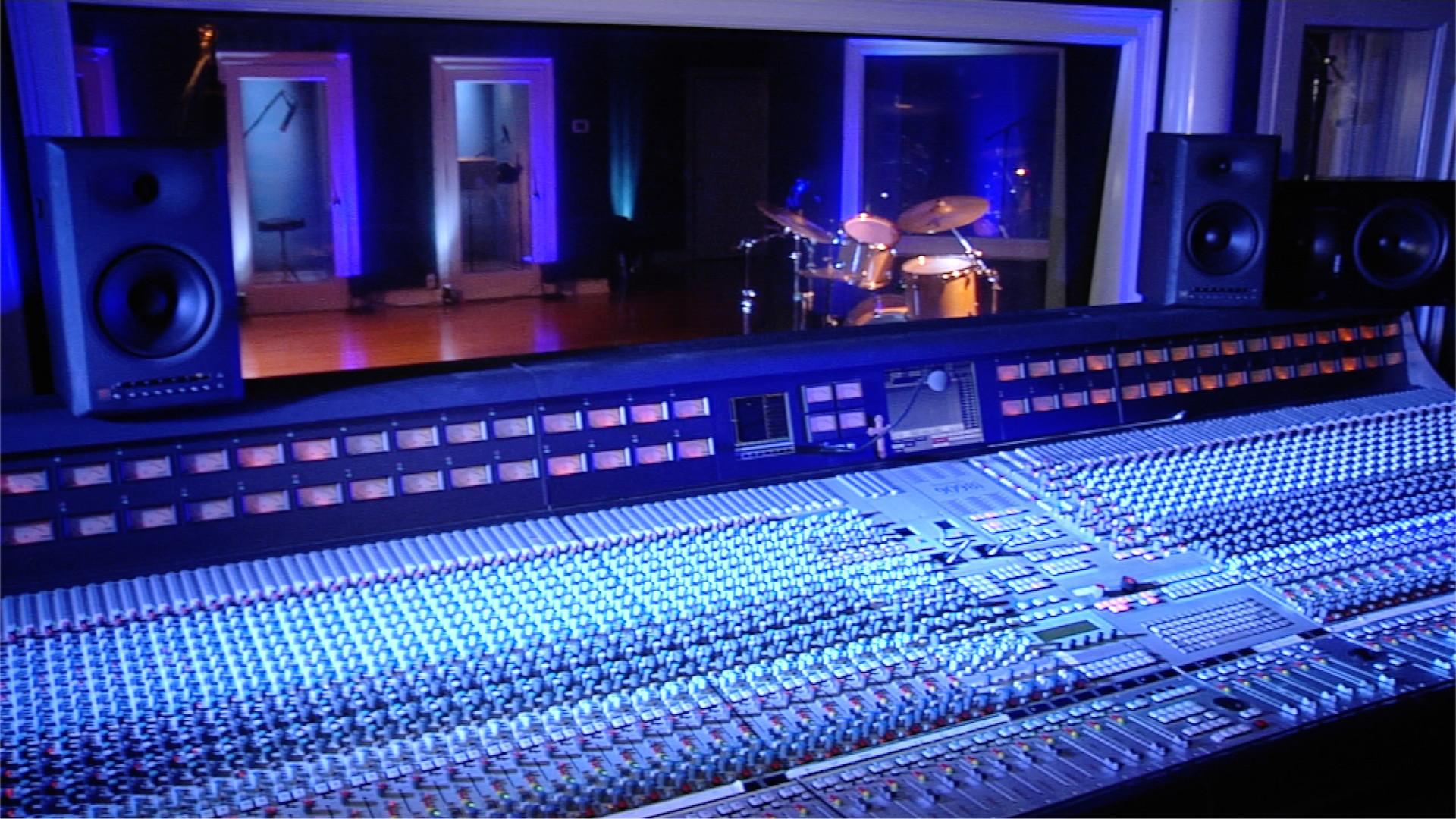 1920x1080 Wallpaper Futuristic Girl Music Recording Studio Hd Wallpaper 74 Images