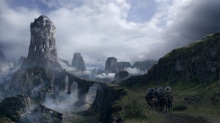 medieval fantasy thrones eyrie game mountain castle digital plateau desktop cliff rock hd wallpapers backgrounds tv background