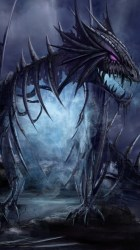 dragon fantasy eye background dragons abyss check wallpapers warcraft getwallpapers