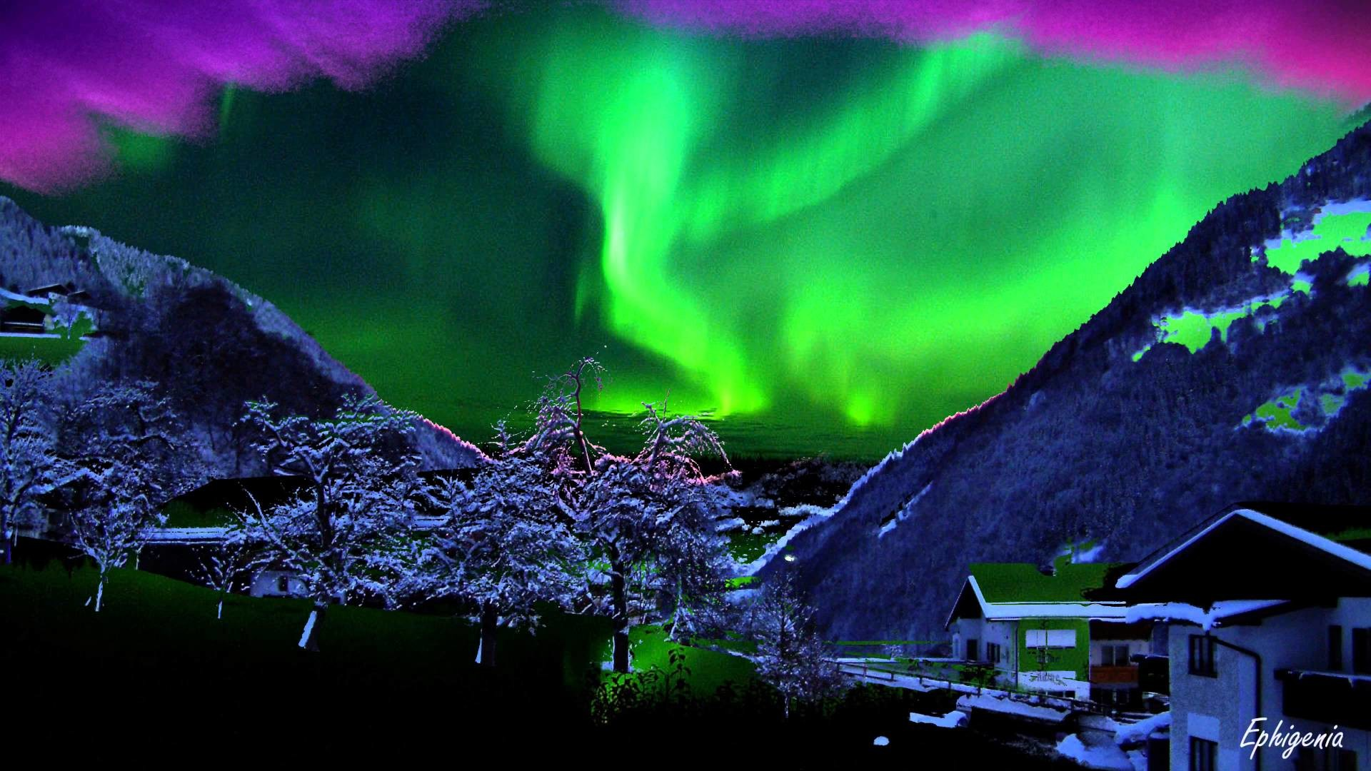 Aurora Borealis Screensaver Windows 7
