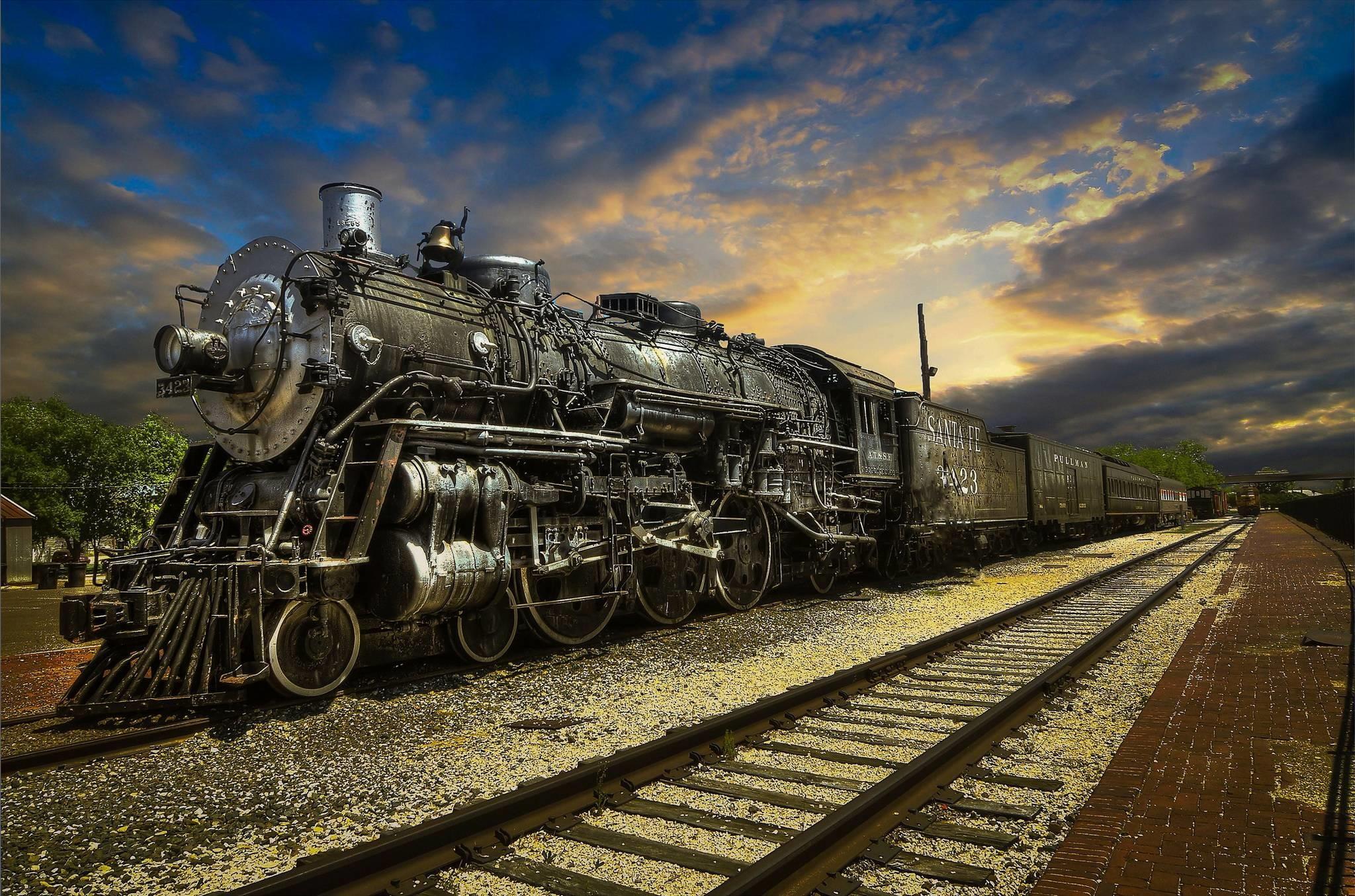 Steam Train Wallpaper (73+ images)