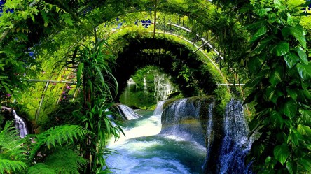 pretty backgrounds desktop wallpapers really waterfall hd cool 1920 1080 vertical wallpapertag