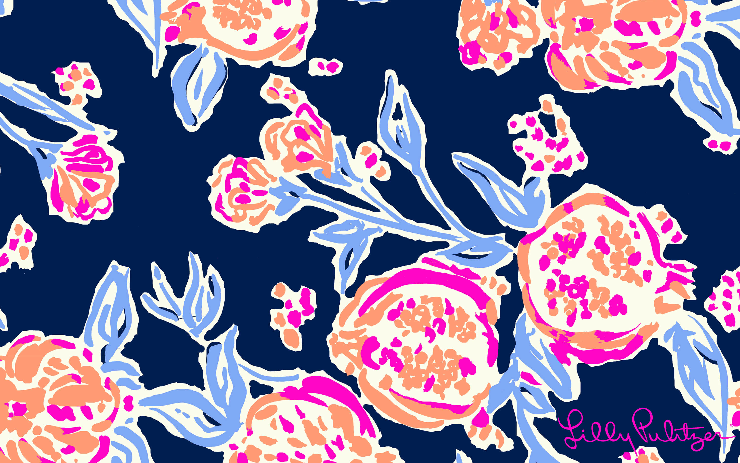 Lilly Pulitzer Fall Wallpaper Simply Southern Desktop Wallpaper 63 Images