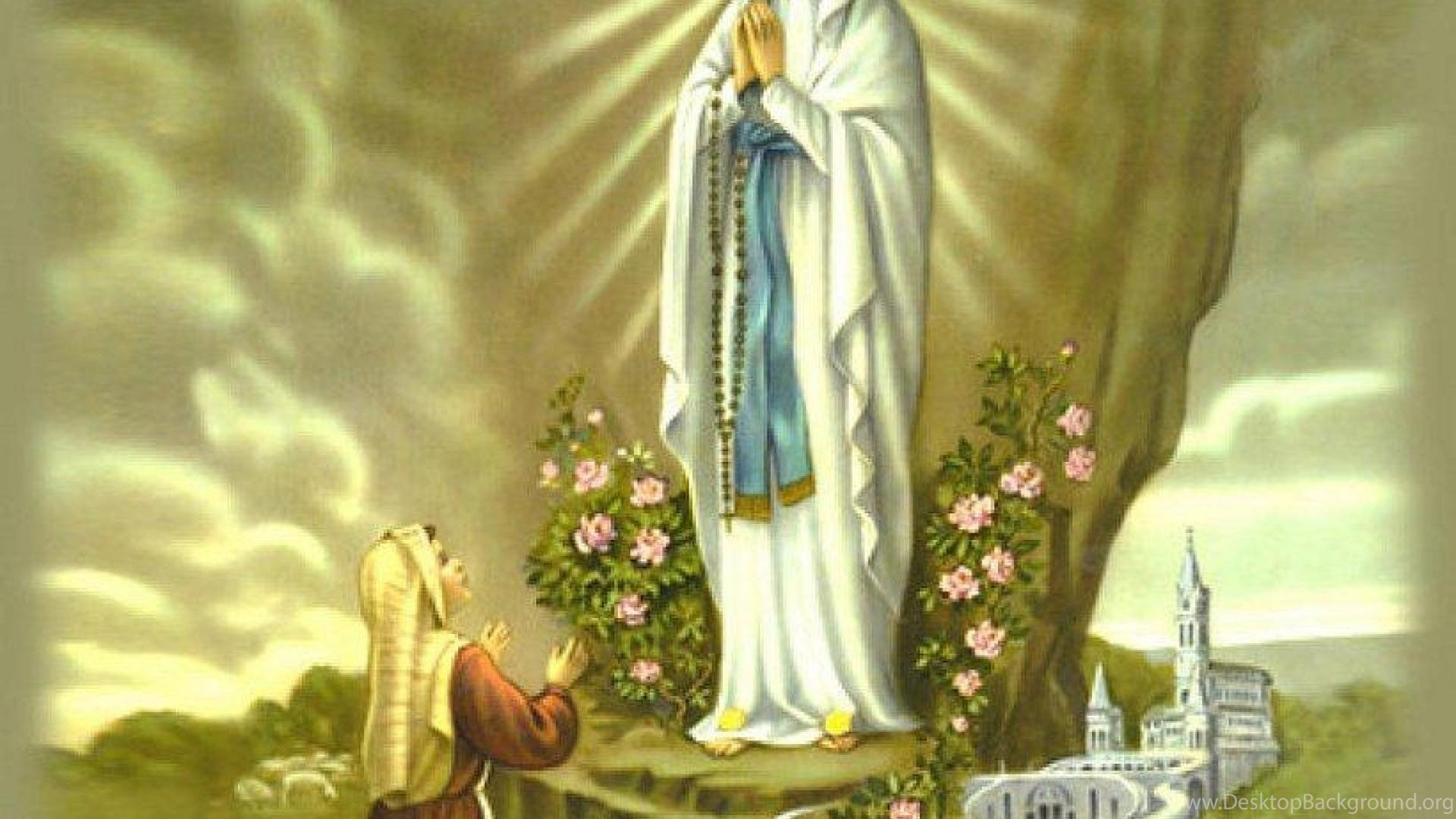 Jesus Christ 3d Wallpaper Download Wallpapers Of Mother Mary 55 Images