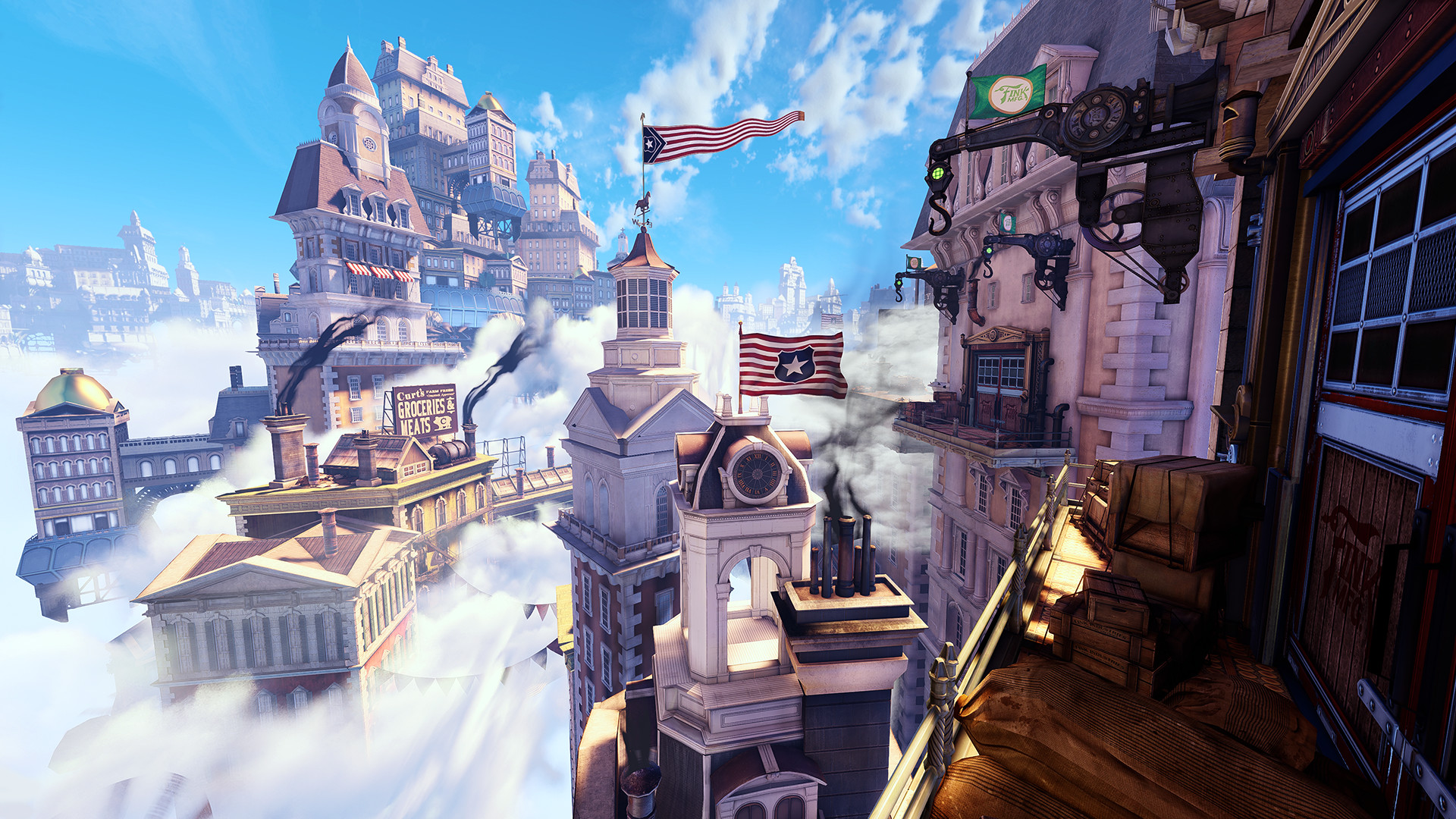 Bioshock Infinite Wallpaper Hd Bioshock Infinite Columbia Wallpaper 81 Images