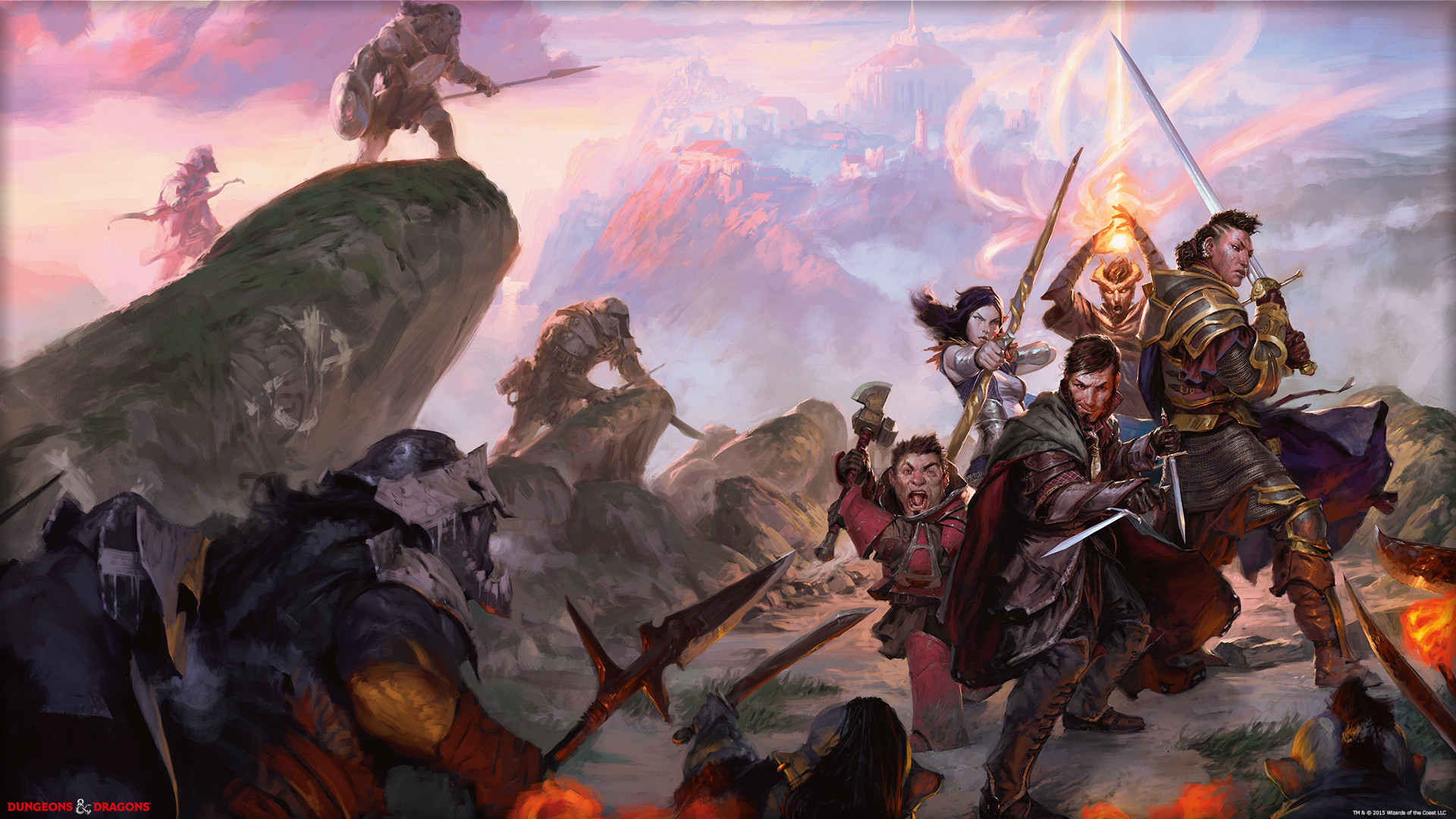 Dungeons And Dragons Wallpaper 1080x1920 Wengerluggagesave