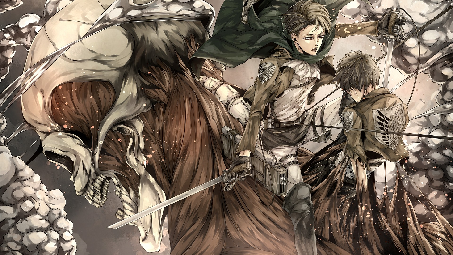 Yuriko nakao/getty images attack on titan is a popular anime series that has also spawned movies and video games. Attack on Titan Live Wallpaper (76+ images)