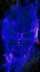 skull flaming wallpapers purple fire skulls evil flame backgrounds cool reaper grim dark dragon sugar photoshop pic wallpaperaccess dragons