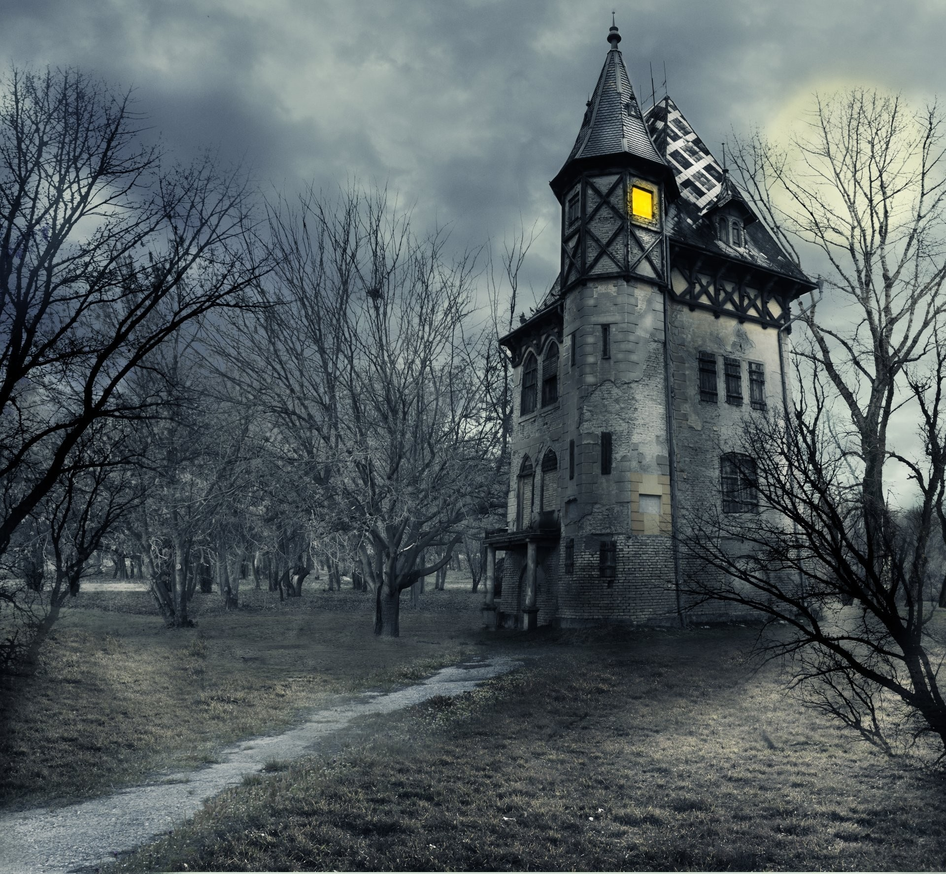 Haunted House Wallpapers 62 Images