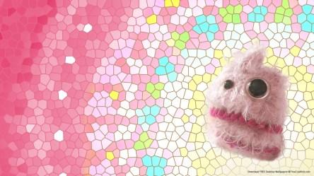 desktop candy monster floss cute kawaii wallpapers cotton background pink screen wallpapersafari save getwallpapers