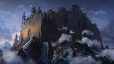 castle fantasy mountain artwork clouds forts medieval hd wallpapers desktop backgrounds background computer px mobile phenomenon