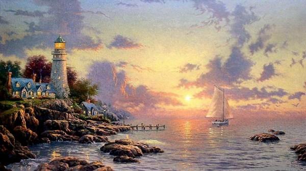 Thomas Kinkade Paintings for Desktop