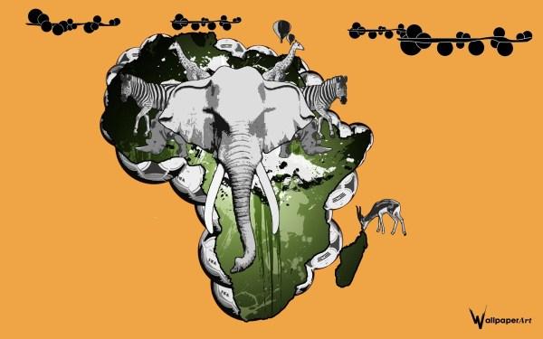 Hd African Art Wallpaper 60