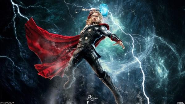 Thor Lightning Avengers