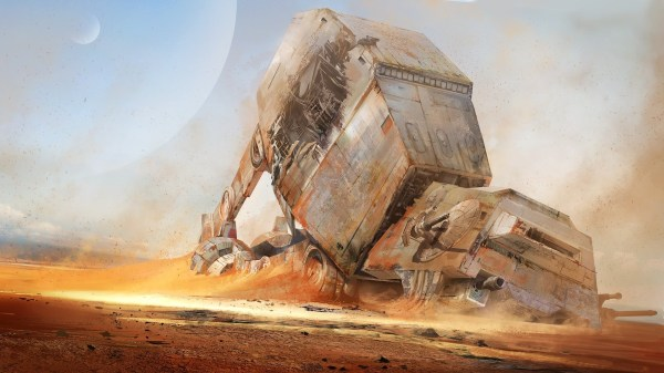 Star Wars Desert Concept Art
