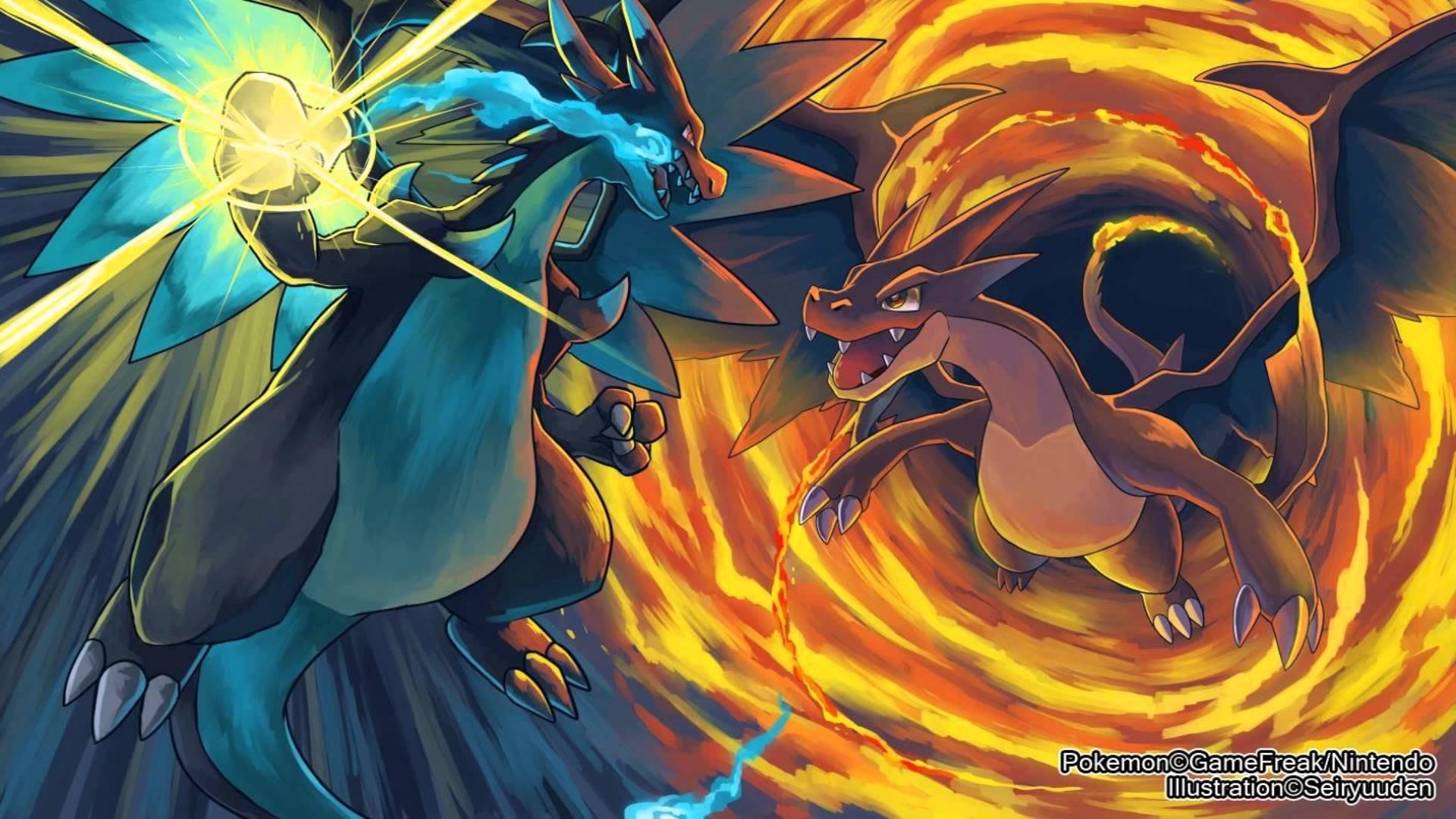 Cute Charizard Wallpaper Pokemon Mega Charizard Wallpaper 70 Images