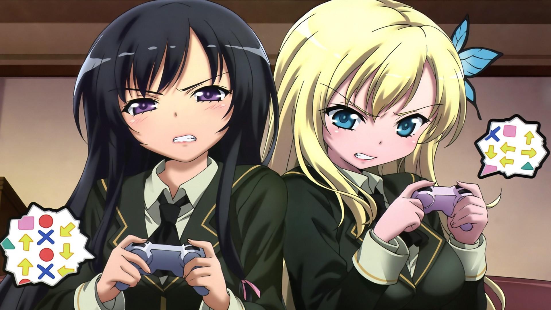 Supreme Girl Iphone Wallpaper Anime Gamer Wallpaper 71 Images