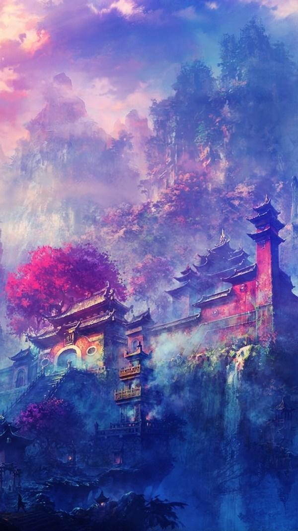 Japanese Art iPhone Wallpaper