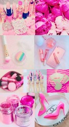 girly cute iphone collage wallpapers pink backgrounds pretty background aesthetic hd phone stuff baby collages walls getwallpapers