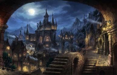 Gothic Dark Fantasy City