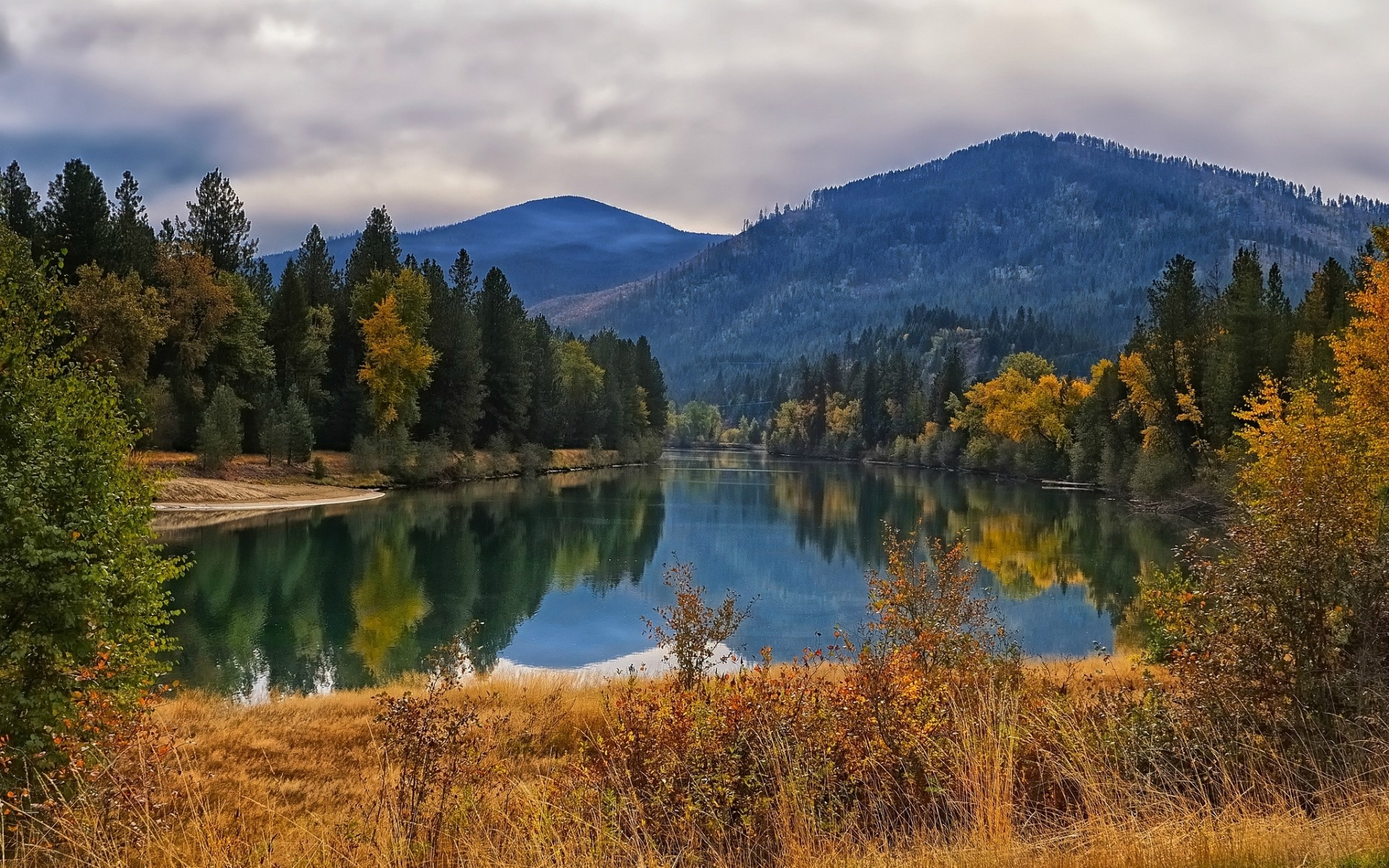 Fall Wallpapers For Desktop Idaho Blue Ridge Mountains Desktop Wallpaper 45 Images