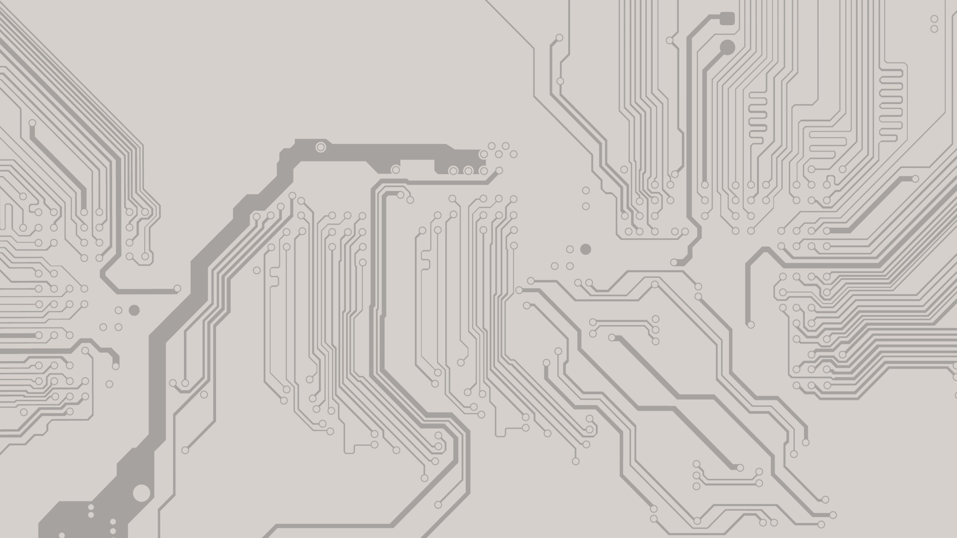 empty circuit board