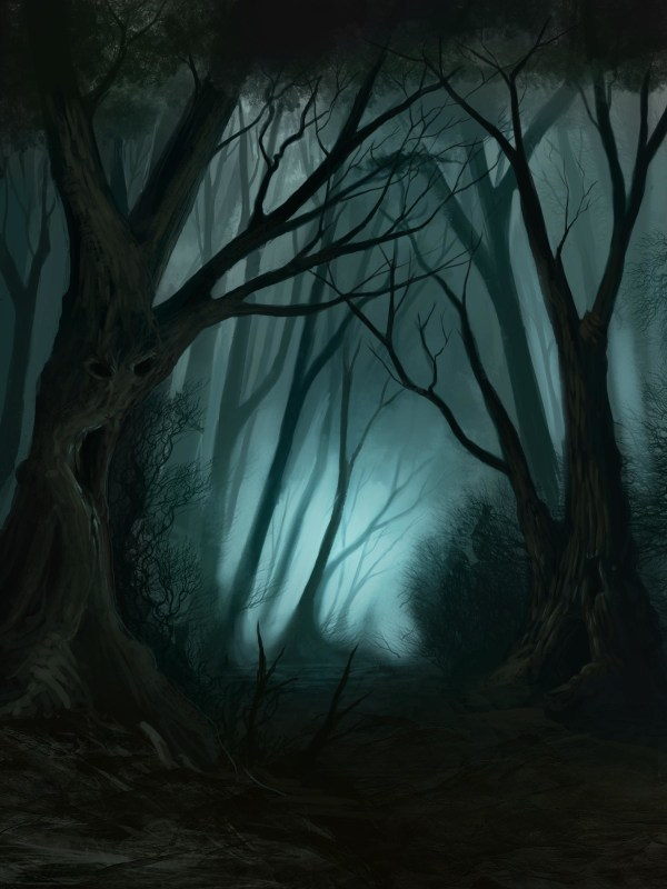 Haunted Forest Wallpaper 59