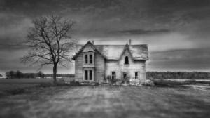 horror background haunted houses 1080p amazing abandoned fields focus tree