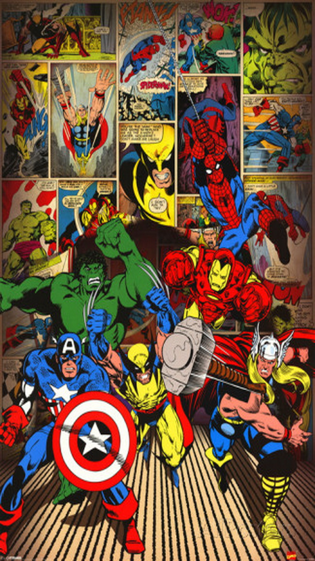 Wallpaper Live Iphone Marvel