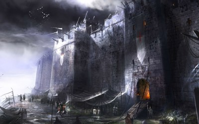medieval fantasy castle backgrounds digital wallpapers desktop hd background ship ghost ice darkness castles knights px water mobile