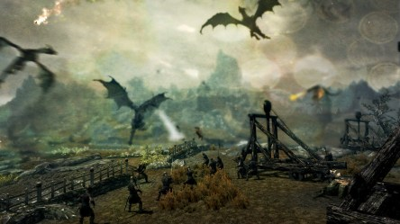 battle fantasy wallpapers medieval background backgrounds hd desktop dragon skyrim wall painting warrior definition knights alphacoders artwork anime computer 1920