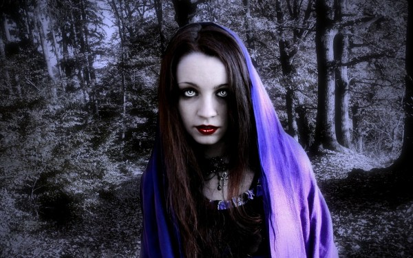 Female Vampire Wallpaper Gothic Girl