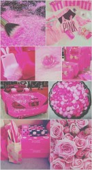 iphone stuff pink wallpapers girly cute pretty background glitter backgrounds collage food wall aesthetic elegant phone hello kitty getwallpapers
