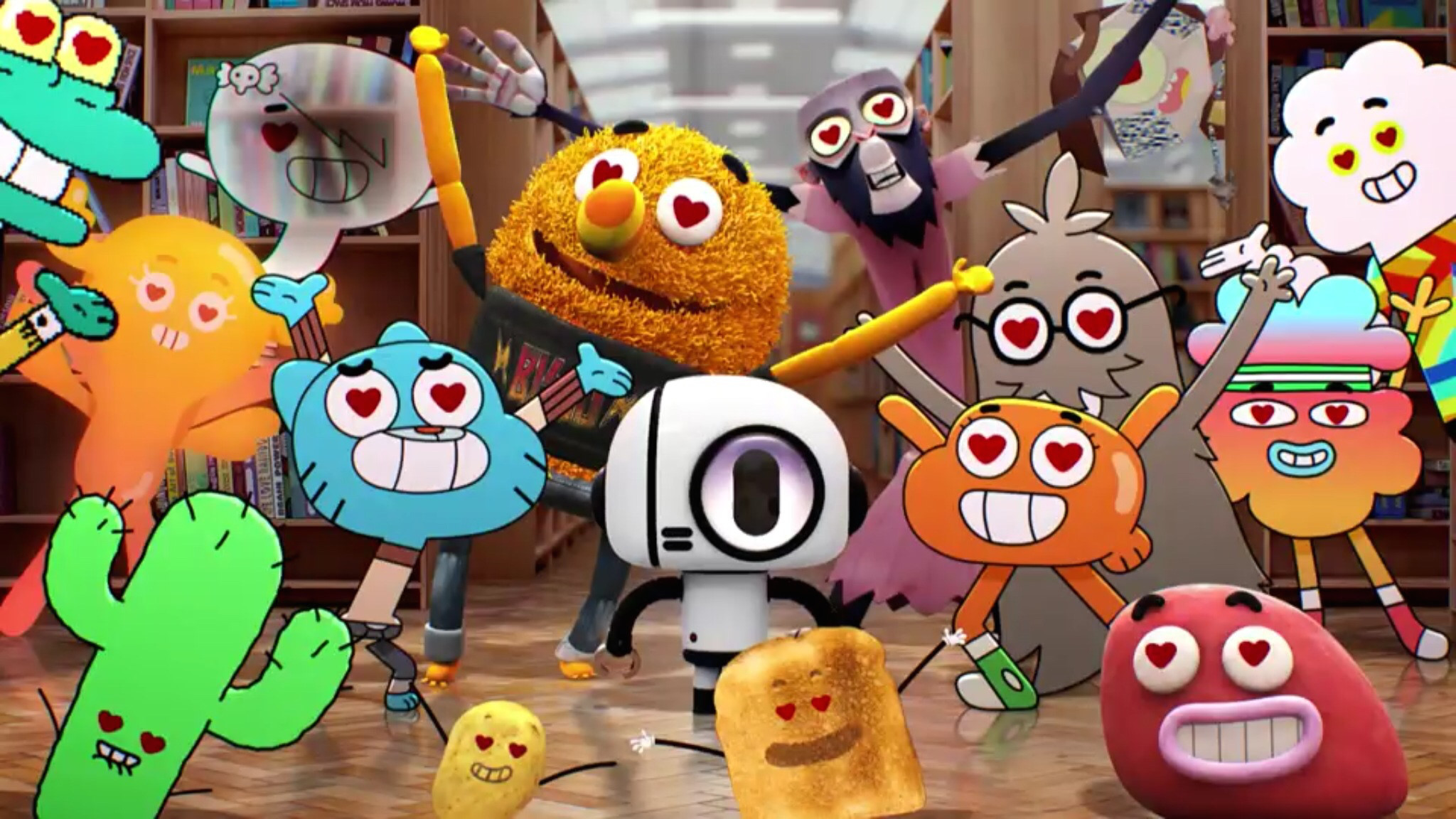Candy Falls Live Wallpaper The Amazing World Of Gumball Wallpapers 81 Images