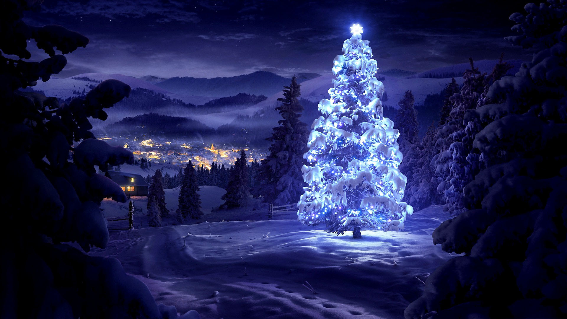 Girl Live Wallpaper Iphone 3d Animated Christmas Wallpapers 62 Images
