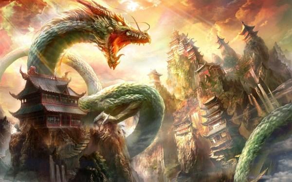 Chinese Dragon Wallpaper 69