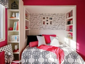 bedrooms bedroom teenage pink wallpapers simple teen teens girly designs teenagers decorating decor interior bed background rooms plain pretty fur